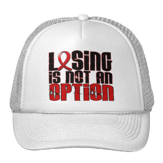 Losing Is Not An Option Heart Disease Hat
