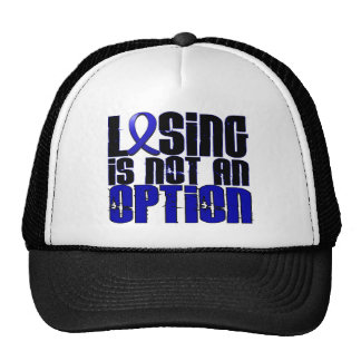 Losing Is Not An Option Huntington's Disease Mesh Hats