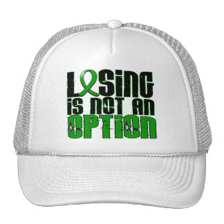 Losing Is Not An Option Kidney Disease Mesh Hat
