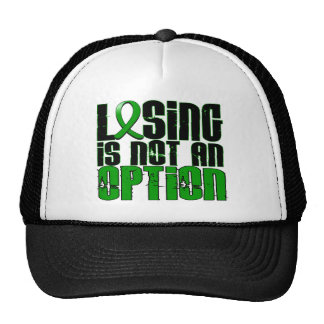Losing Is Not An Option Kidney Disease Mesh Hats