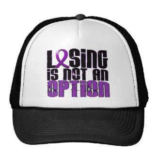 Losing Is Not An Option Leiomyosarcoma Trucker Hat