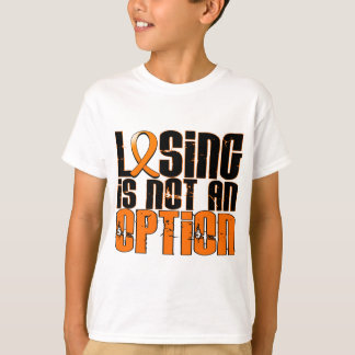 Losing Is Not An Option Leukemia T-Shirt