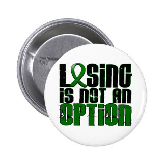 Losing Is Not An Option Liver Disease 6 Cm Round Badge