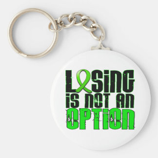 Losing Is Not An Option Non-Hodgkin's Lymphoma Keychains