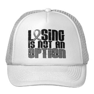 Losing Is Not An Option Parkinson's Disease Hats