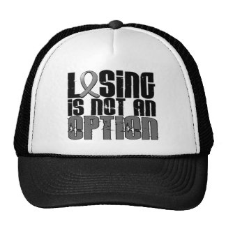 Losing Is Not An Option Parkinson's Disease Mesh Hat