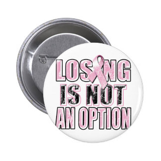 Losing Is Not An Option.png 6 Cm Round Badge