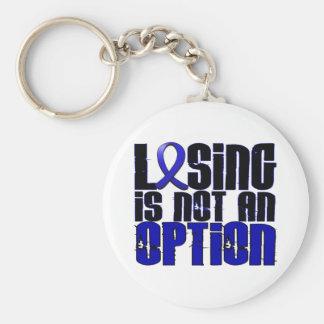 Losing Is Not An Option Syringomyelia Basic Round Button Key Ring