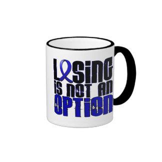 Losing Is Not An Option Syringomyelia Ringer Mug