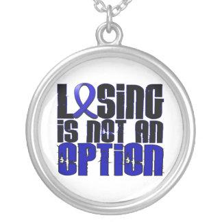 Losing Is Not An Option Syringomyelia Round Pendant Necklace