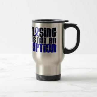 Losing Is Not An Option Syringomyelia Stainless Steel Travel Mug