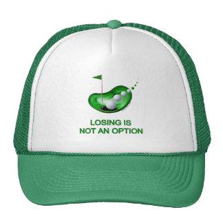 Losing Not An Option Golf Mesh Hats