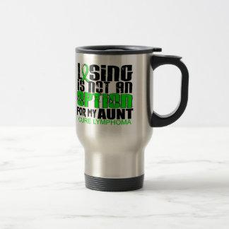 Losing Not Option Lymphoma Aunt Coffee Mug