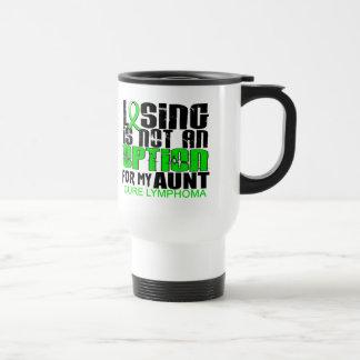 Losing Not Option Lymphoma Aunt Mug