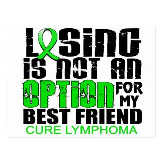 Losing Not Option Lymphoma Best Friend Postcard