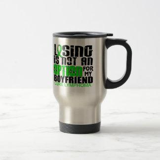 Losing Not Option Lymphoma Boyfriend Mug