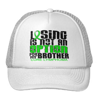 Losing Not Option Lymphoma Brother Mesh Hat