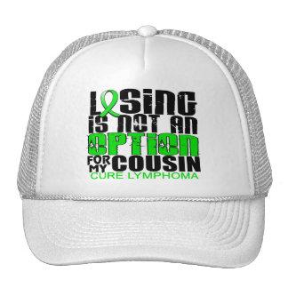 Losing Not Option Lymphoma Cousin Trucker Hats
