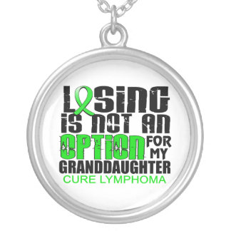 Losing Not Option Lymphoma Granddaughter Jewelry