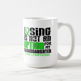 Losing Not Option Lymphoma Granddaughter Coffee Mugs