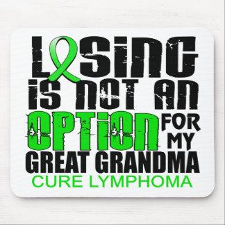 Losing Not Option Lymphoma Great Grandma Mouse Pad