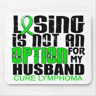 Losing Not Option Lymphoma Husband Mouse Pads
