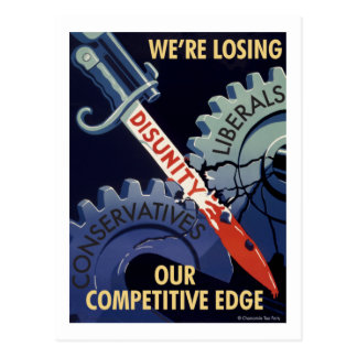 Losing Our Competitive Edge Postcard