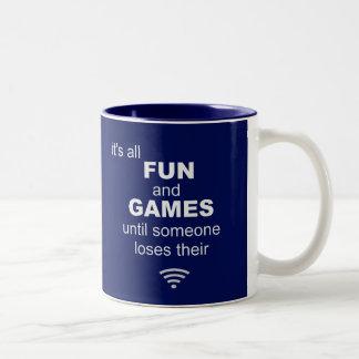 Losing WiFi Internet Coffee Mug - Blue