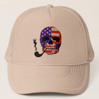 LosMoyas Smoking Hot Skull Hat