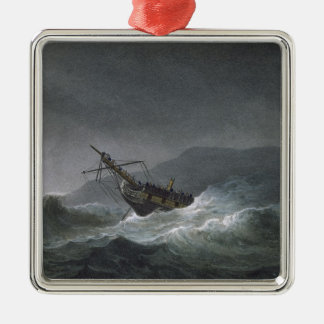 Loss of the Blanche, off Abrevack, 4th March, 1807 Christmas Ornament