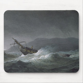 Loss of the Blanche, off Abrevack, 4th March, 1807 Mouse Mat