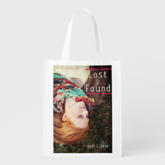 Lost and Found book cover Reusable Grocery Bag
