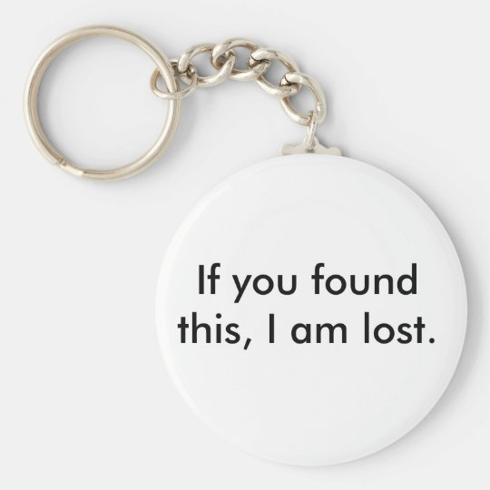 Lost and Found Key-Chain Key Ring