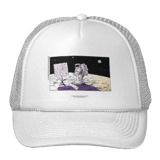 Lost Astronaut Funny Cap