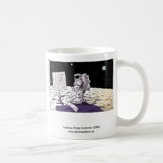 Lost Astronaut Funny Coffee Mug