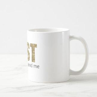 lost basic white mug