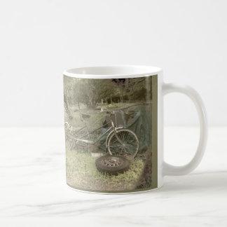 Lost Bike for Two Woodstock, NY Basic White Mug