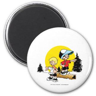 Lost Boys 6 Cm Round Magnet