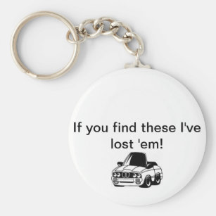 Lost Car Keys Key Ring