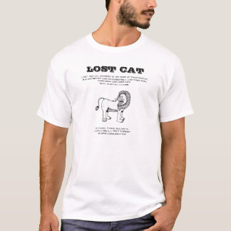 LOST CAT T-Shirt