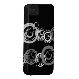 Lost circles Black berry case iPhone 4 Cases