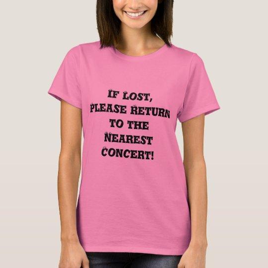 Lost Concert Tee