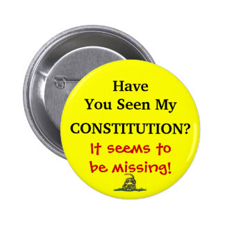Lost Constitution 6 Cm Round Badge