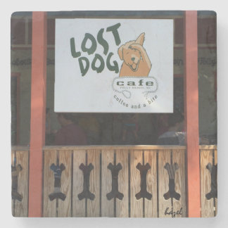 Lost Dog Cafe, Folly Beach, South Carolina Coaster Stone Coaster