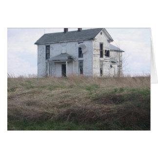 Lost Farmhouse Card