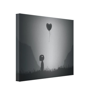Lost Heart in Limbo Canvas Print