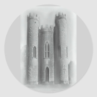 LOST HISTORY - CASTLE ROUND STICKER