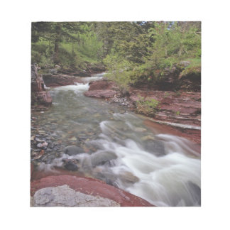 Lost Horse Creek in Waterton Lakes National Park Notepad