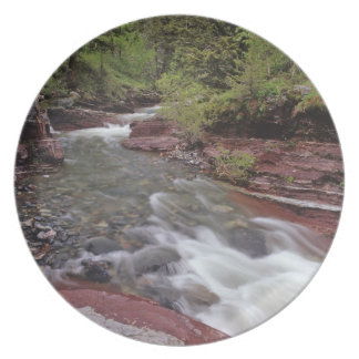 Lost Horse Creek in Waterton Lakes National Park Plate