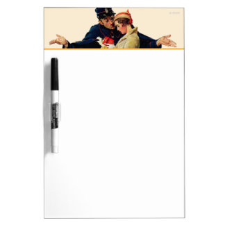 Lost in Paris Dry Erase Board